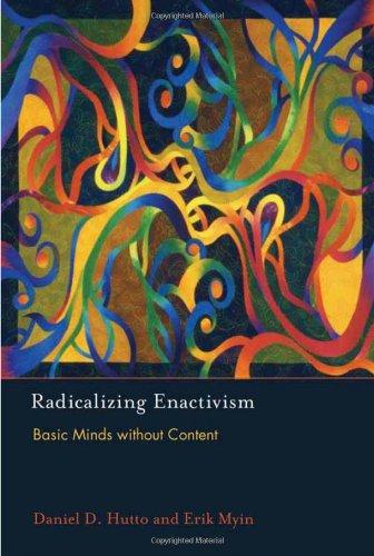 9780262018548: Radicalizing Enactivism: Basic Minds without Content (MIT Press)