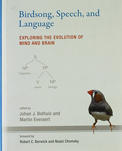 9780262018609: Birdsong, Speech, and Language: Exploring the Evolution of Mind and Brain