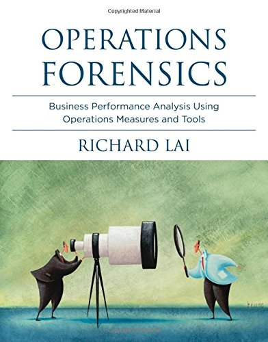 9780262018661: Operations Forensics: Business Performance Analysis Using Operations Measures and Tools (MIT Press)