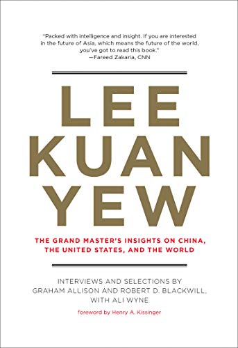 9780262019125: Lee Kuan Yew: Grand Master's Insights on China, the United States and the World (Belfer Center Studies in International Security)