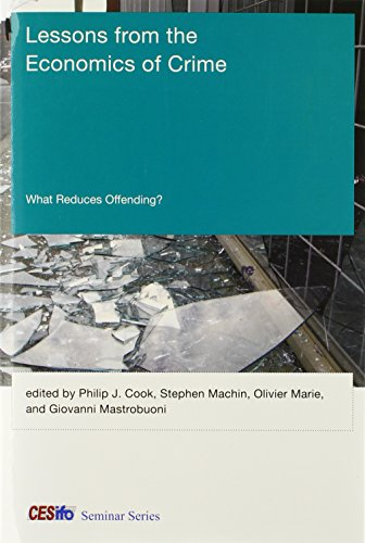 9780262019613: Lessons from the Economics of Crime: What Reduces Offending?
