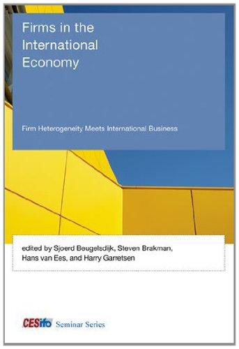 9780262019743: Firms in the International Economy: Firm Heterogeneity Meets International Business (CESifo Seminar Series)