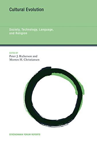 9780262019750: Cultural Evolution: Society, Technology, Language, and Religion (Strüngmann Forum Reports)