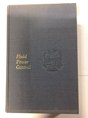 9780262020060: Fluid Power Control