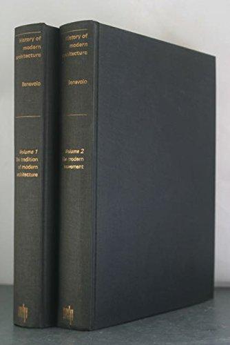 9780262020800: History of Modern Architecture (2 Volume Set)