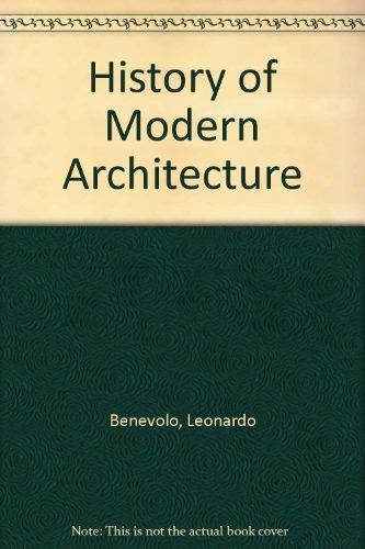 9780262020817: Benevolo: History Modern Architecture