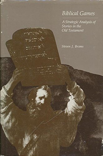9780262021449: Biblical Games: Strategic Analysis of Stories of the Old Testament