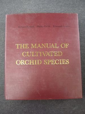 9780262021623: The Manual of Cultivated Orchid Species (English and German Edition)