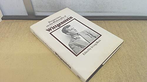 9780262021739: Perspectives on the Philosophy of Wittgenstein