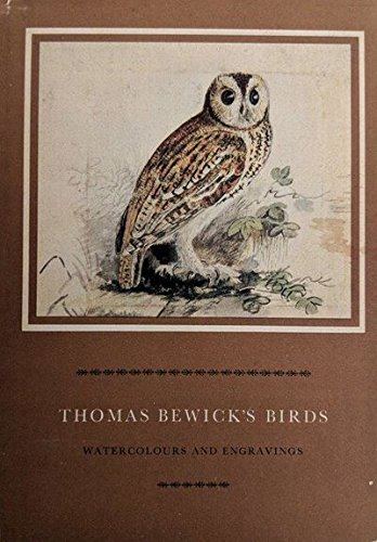 9780262021760: Thomas Bewick's Birds: Watercolours and Engravings