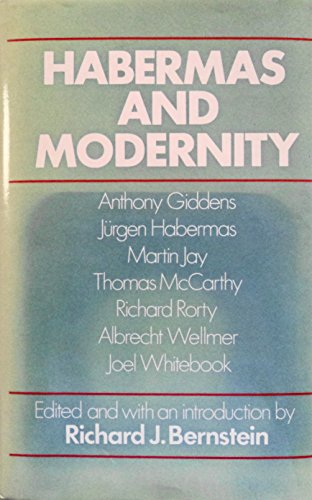 9780262022279: Habermas and Modernity