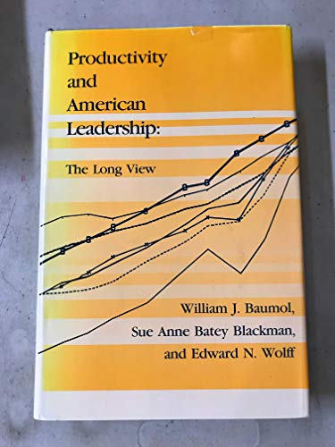 9780262022934: Productivity and American Leadership: The Long View