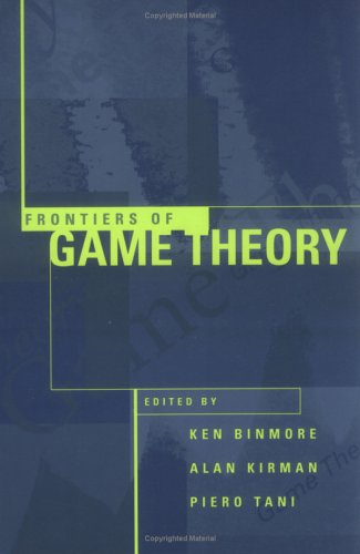 9780262023566: Frontiers of Game Theory