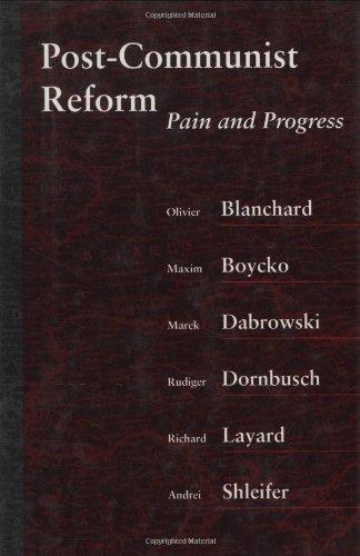 9780262023627: Post-Communist Reform: Pain and Progress