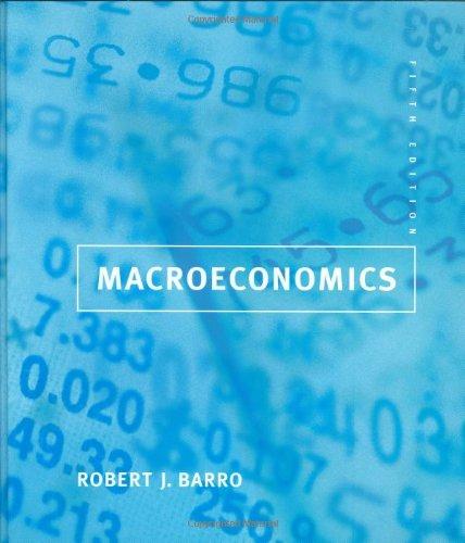 9780262024365: Macroeconomics (The MIT Press)