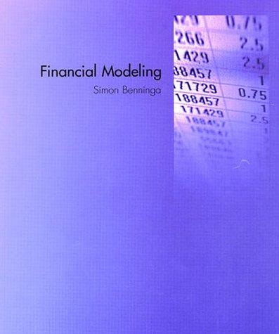 9780262024372: Financial Modeling