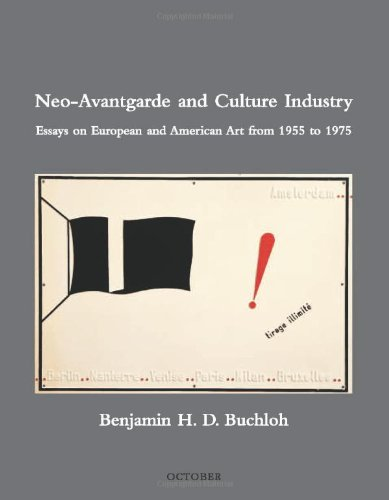 9780262024549: Neo Avantgarde and Culture Industry: Essays on European and American Art from 1955 to 1975