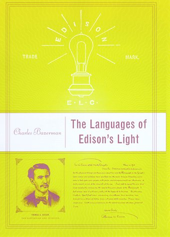 9780262024563: The Languages of Edison's Light (Inside Technology)