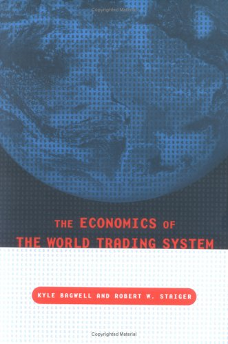 9780262025294: The Economics of the World Trading System