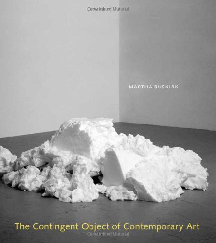 9780262025393: The Contingent Object of Contemporary Art