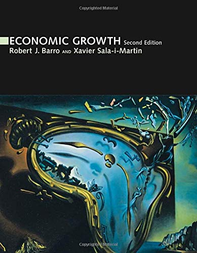 9780262025539: Economic Growth (MIT Press)