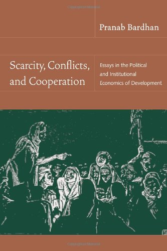 9780262025737: Scarcity, Conflicts, and Cooperation: Essays in the Political and Institutional Economics of Development (MIT Press)