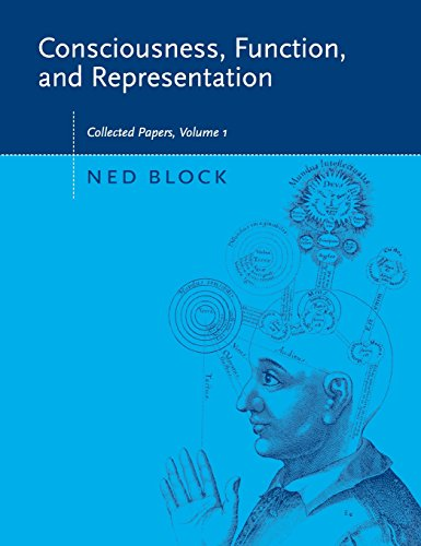 9780262026031: Consciousness, Function, and Representation: Collected Papers, Volume 1