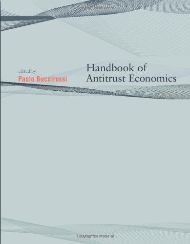 9780262026277: Handbook of Antitrust Economics