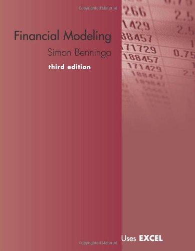 9780262026284: Financial Modeling