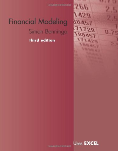 9780262026284: Financial Modeling