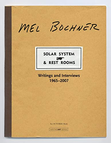 9780262026314: Solar System & Rest Rooms: Writings and Interviews, 1965--2007 (Writing Art)