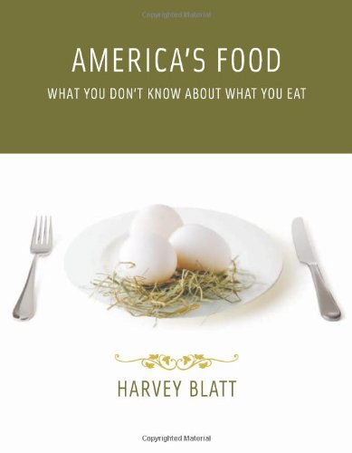 9780262026529: America's Food: What You Don't Know About What You Eat (The MIT Press)