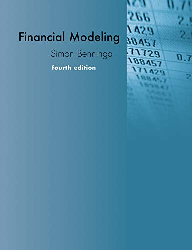 9780262027281: Financial Modeling: With a Section on Visual Basics for Applications