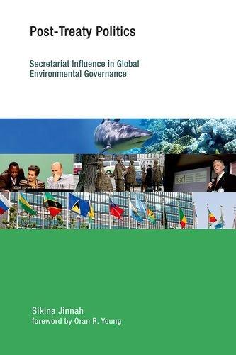9780262028042: Post-Treaty Politics: Secretariat Influence in Global Environmental Governance (Earth System Governance)