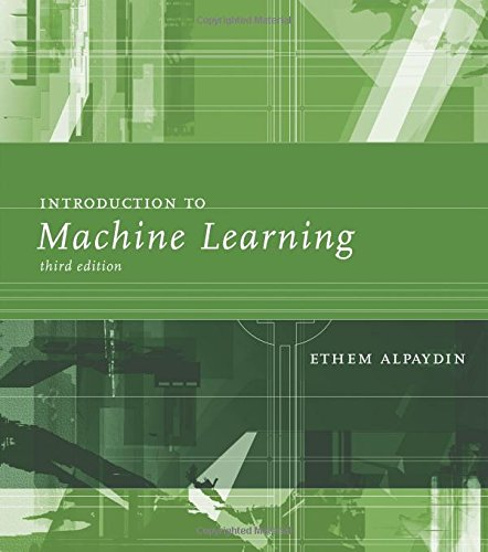 9780262028189: Introduction to Machine Learning (Adaptive Computation and Machine Learning series)