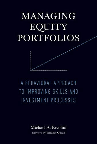 9780262028349: Managing Equity Portfolios: Putting Behavioral Finance to Work