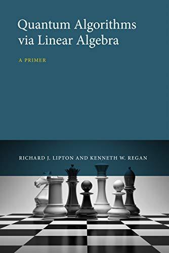 9780262028394: Quantum Algorithms via Linear Algebra: A Primer (MIT Press)