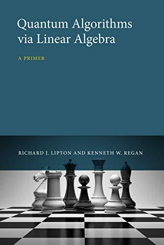 9780262028394: Quantum Algorithms via Linear Algebra: A Primer