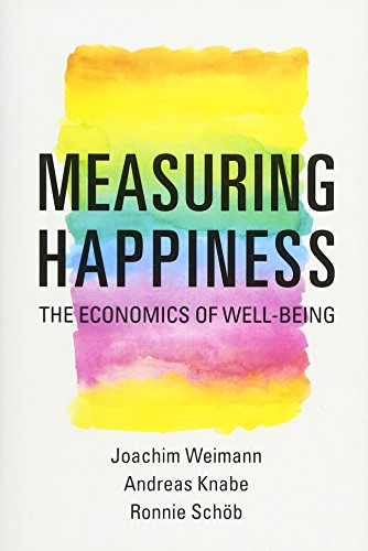 9780262028448: Measuring Happiness: The Economics of Well-Being