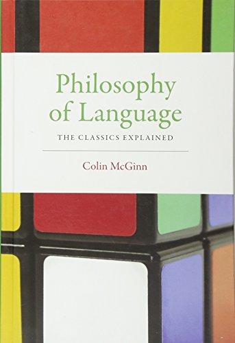 9780262028455: Philosophy of Language: The Classics Explained (MIT Press)