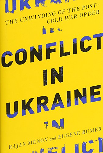 9780262029049: Conflict in Ukraine: The Unwinding of the Post�Cold War Order (Boston Review Originals)