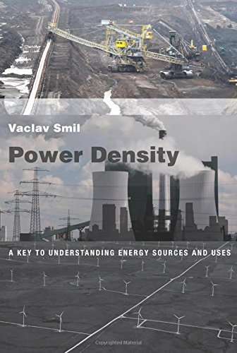 9780262029148: Power Density: A Key to Understanding Energy Sources and Uses (MIT Press)