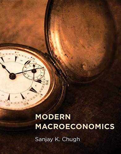9780262029377: Modern Macroeconomics (MIT Press)