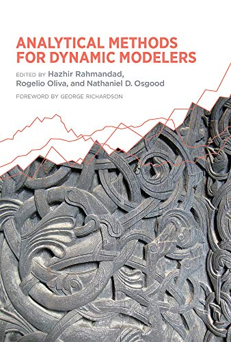 9780262029490: Analytical Methods for Dynamic Modelers