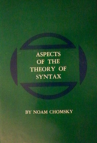 9780262030113: Aspects of the Theory of Syntax