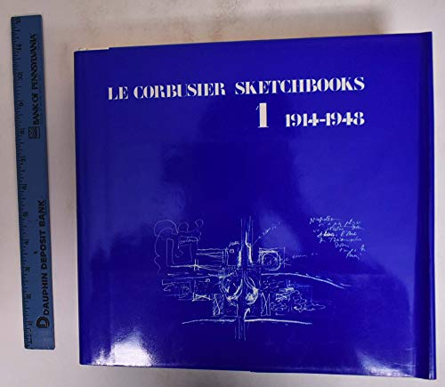 9780262030786: Le Corbusier Sketchbooks, Vol. 1, 1914-1948