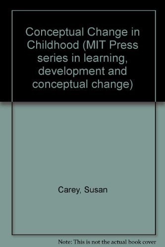 9780262031103: Conceptual Change in Childhood (MIT Press series in learning, development and conceptual change)