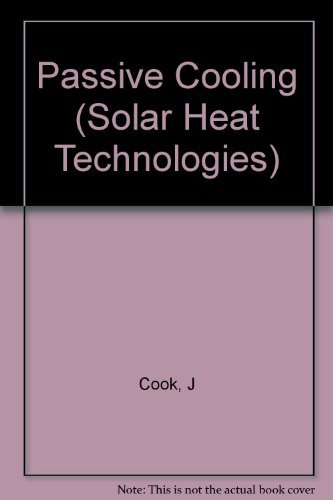 9780262031479: Passive Cooling (Solar Heat Technologies)