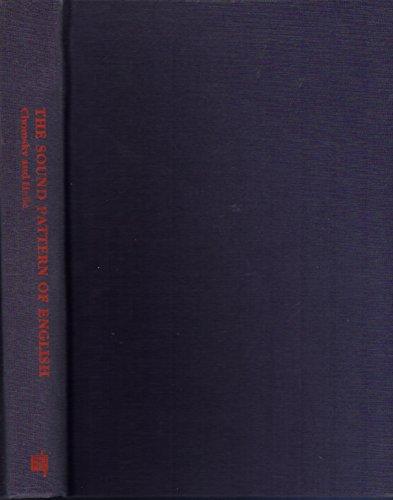 9780262031790: The Sound Pattern of English