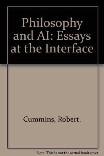 9780262031806: Philosophy and Ai: Essays at the Interface